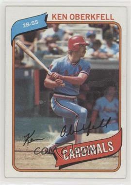 1980 Topps - [Base] #701 - Ken Oberkfell