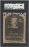 Billy Williams [SGC AUTHENTIC AUTO]