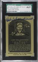 Red Schoendienst [SGC Authentic Encased]