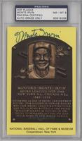 Monte Irvin [PSA/DNA Certified Encased]