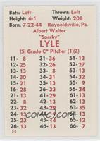 Sparky Lyle