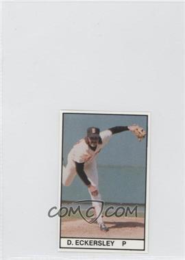 1981 All-Star Game Program Inserts - [Base] #DEEC - Dennis Eckersley