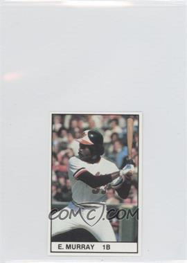 1981 All-Star Game Program Inserts - [Base] #EDMU - Eddie Murray