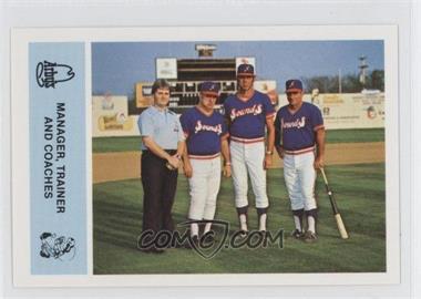 1981 Arby's Nashville Sounds - Team Set [Base] #N/A - Catfish Metkovich, Steven Doetsch, Steve Douglas, Pat Dodson, Carlo Mejia