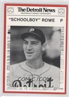 Schoolboy Rowe