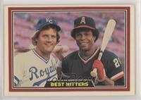 Best Hitters In Baseball - George Brett, Rod Carew [EXtoNM]