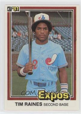1981 Donruss - [Base] #538 - Tim Raines