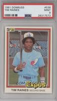 Tim Raines [PSA 9 MINT]