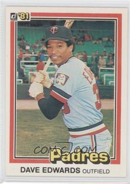 1981 Donruss - [Base] #595 - Dave Edwards