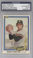 Mark Fidrych [PSA/DNA Certified Auto]