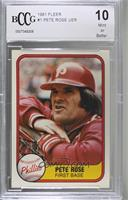 Pete Rose [BCCG Mint]