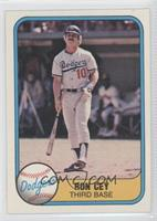 Ron Cey (No Finger on Back)