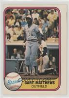 Gary Matthews (Finger on Back)