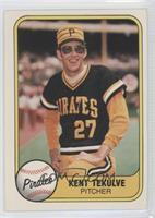 Kent Tekulve (Year 1971 on Back)