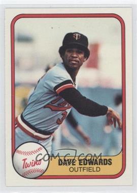 1981 Fleer - [Base] #568 - Dave Edwards