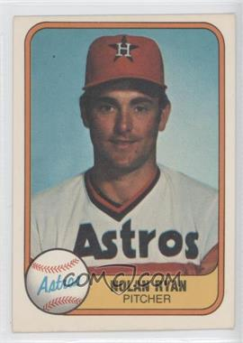 1981 Fleer - [Base] #57 - Nolan Ryan