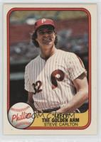 Steve Carlton (Corrected: Year 1966 on Back)