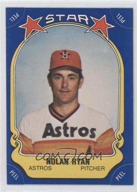1981 Fleer Star Stickers - [Base] #108 - Nolan Ryan