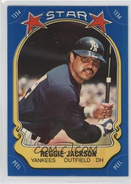 1981 Fleer Star Stickers - [Base] #115 - Reggie Jackson