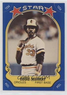 1981 Fleer Star Stickers - [Base] #117 - Eddie Murray