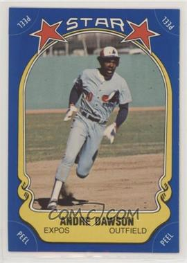 1981 Fleer Star Stickers - [Base] #123 - Andre Dawson