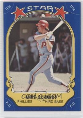 1981 Fleer Star Stickers - [Base] #9 - Mike Schmidt