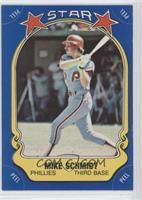 Mike Schmidt (bat swinging)