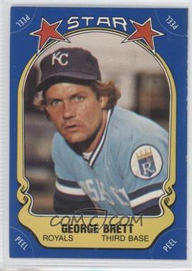 1981 Fleer Star Stickers - [Base] #N/A - George Brett