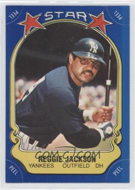 1981 Fleer Star Stickers - [Base] #REJA - Reggie Jackson