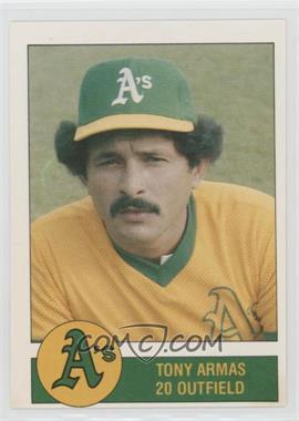 1981 Granny Goose Potato Chips Oakland Athletics - Food Issue [Base] #20 - Tony Armas