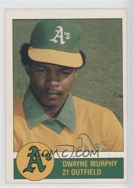 1981 Granny Goose Potato Chips Oakland Athletics - Food Issue [Base] #21 - Dwayne Murphy