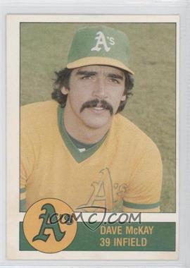 1981 Granny Goose Potato Chips Oakland Athletics - Food Issue [Base] #39 - Dave McKay