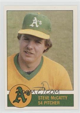 1981 Granny Goose Potato Chips Oakland Athletics - Food Issue [Base] #54 - Steve McCatty