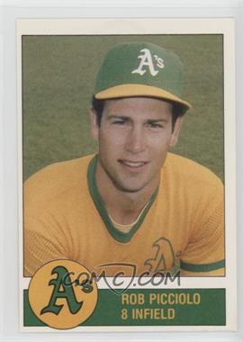 1981 Granny Goose Potato Chips Oakland Athletics - Food Issue [Base] #8 - Rob Picciolo