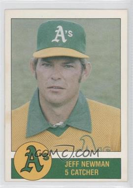 1981 Granny Goose Potato Chips Oakland Athletics - Food Issue [Base] #N/A - Jeff Newman