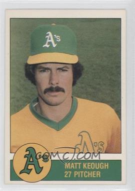 1981 Granny Goose Potato Chips Oakland Athletics - Food Issue [Base] #N/A - Matt Keough