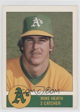 1981 Granny Goose Potato Chips Oakland Athletics - Food Issue [Base] #N/A - Mike Heath