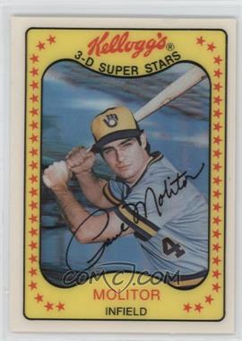 1981 Kellogg's 3-D Super Stars - [Base] #53 - Paul Molitor