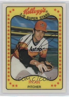 1981 Kellogg's 3-D Super Stars - [Base] #6 - Nolan Ryan