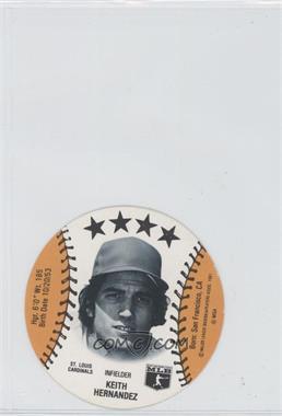 1981 MSA Discs - [Base] #KEHE - Keith Hernandez