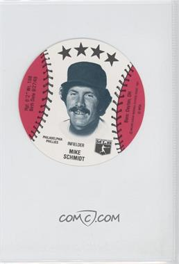 1981 MSA Discs - [Base] #MISC - Mike Schmidt