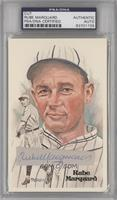 Rube Marquard (Cut Auto) /10000 [PSA/DNA Certified Encased]