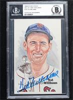 Ted Williams [BAS Certified BGS Encased] #/10,000