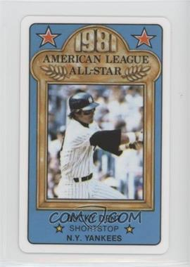 1981 Perma-Graphics/Topps Credit Cards - All-Stars #150-ASA8112 - Bucky Dent