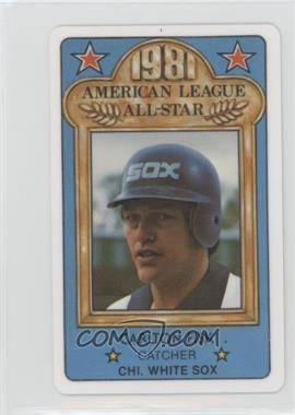 1981 Perma-Graphics/Topps Credit Cards - All-Stars #150-ASA8113 - Carlton Fisk