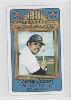 1981 Perma-Graphics/Topps Credit Cards - All-Stars #150-ASA8114 - Reggie Jackson