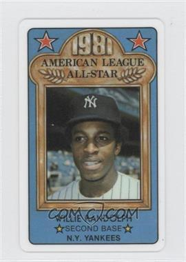 1981 Perma-Graphics/Topps Credit Cards - All-Stars #150-ASA8116 - Willie Randolph