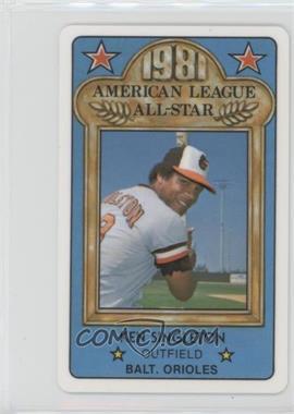 1981 Perma-Graphics/Topps Credit Cards - All-Stars #150-ASA8117 - Ken Singleton