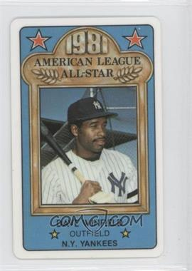 1981 Perma-Graphics/Topps Credit Cards - All-Stars #150-ASA8118 - Dave Winfield