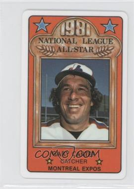 1981 Perma-Graphics/Topps Credit Cards - All-Stars #150-ASN8101 - Gary Carter